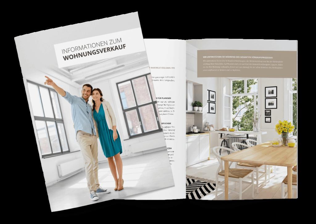 Broschüre Wohnungsverkauf