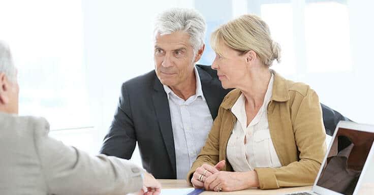 Gespräch Beratung Immobilienverkauf